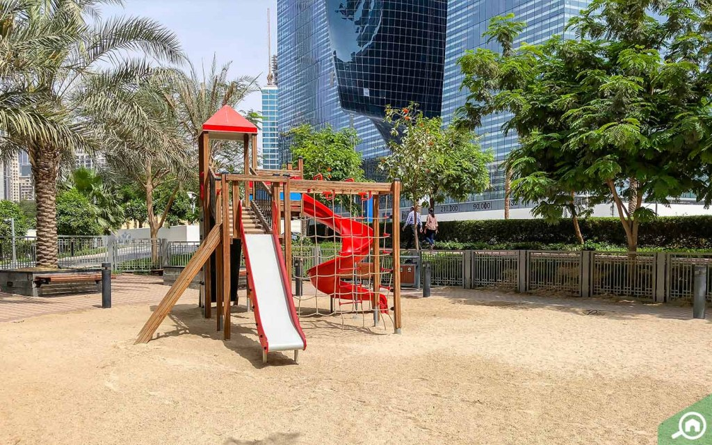 Business Bay can be a great area for families with small children.