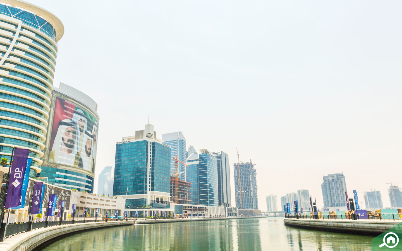 منطقة الخليج التجاري منطقة الأعمال الرئيسية الخاصة بإمارة دبي