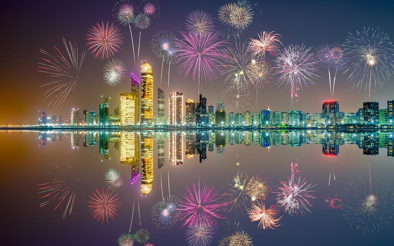 يعد كورنيش أبوظبي من أكثر الأماكن استقطاباً لتنظيم الفعاليات والعروض والحفلات الغنائية