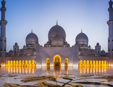 الجولات الدينية السياحية لأجمل مساجد دولة الإمارات العربية المتحدة