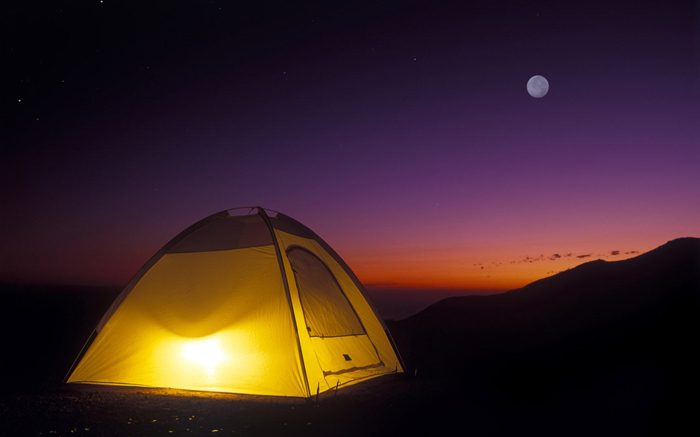 choosing the best tent for camping at night