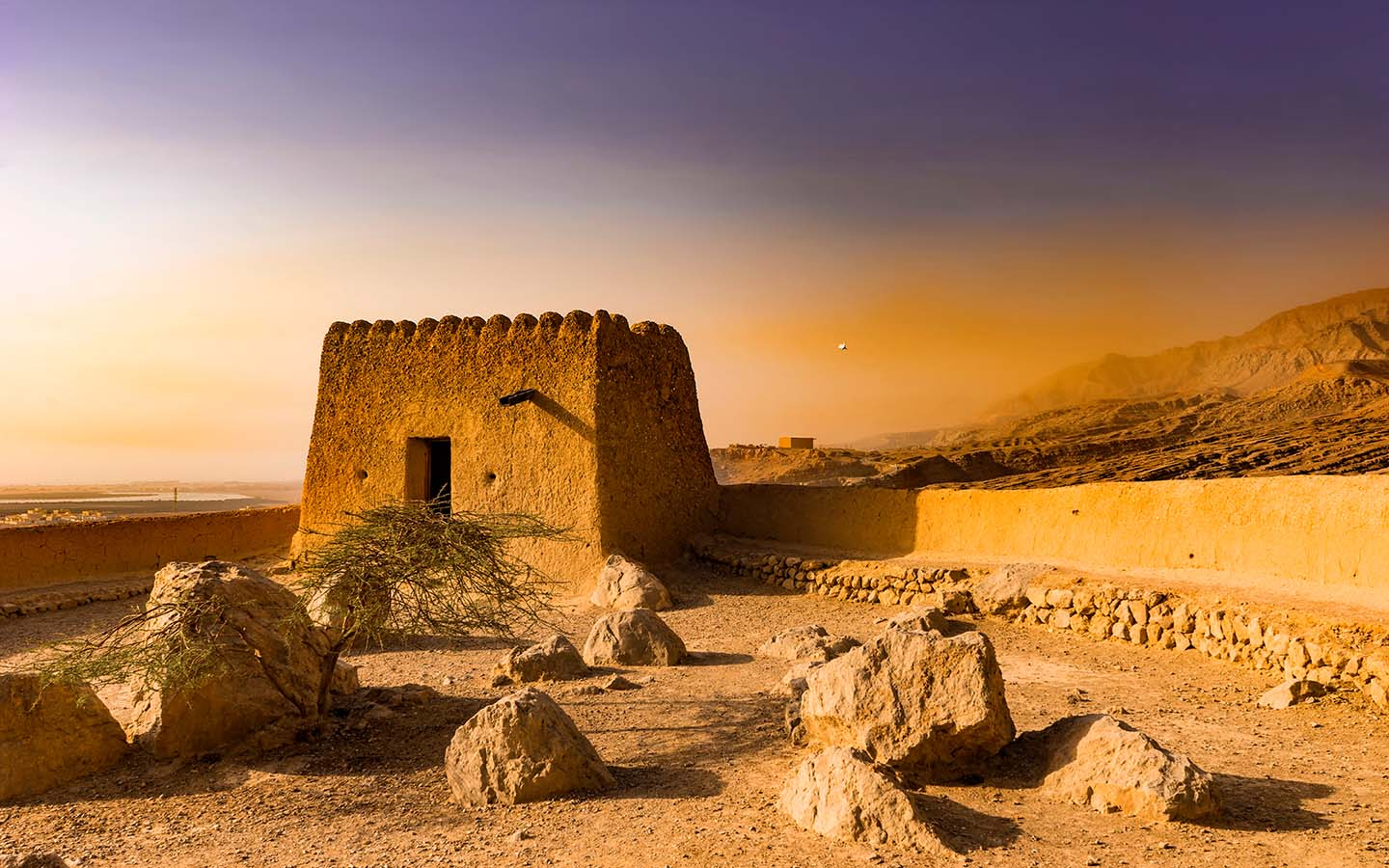 The Al Dhayah Fort in Ras Al Khaimah