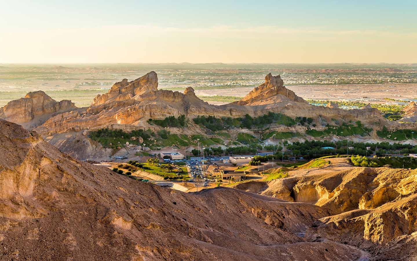 View from Jebel Hafeet, Al Ain