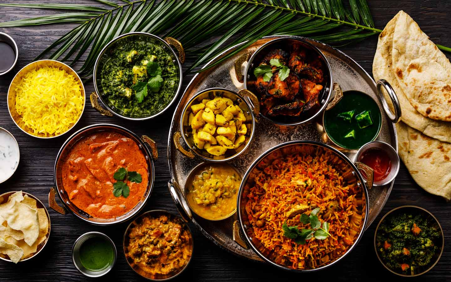 Try the authentic dishes at this Indian restaurant in Business Bay.
