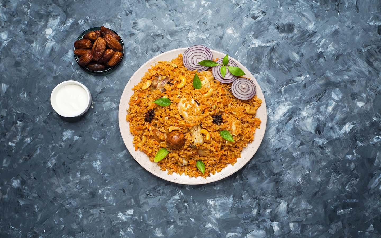 Machboos is a prominent dish in Emirati cuisine