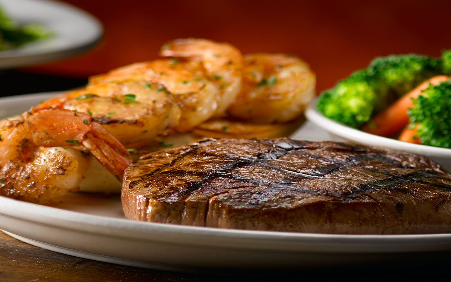 Texas Roadhouse in The Dubai Mall serves authentic Texan steaks