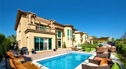 Spanish Garden villa for sale on Bayut.com