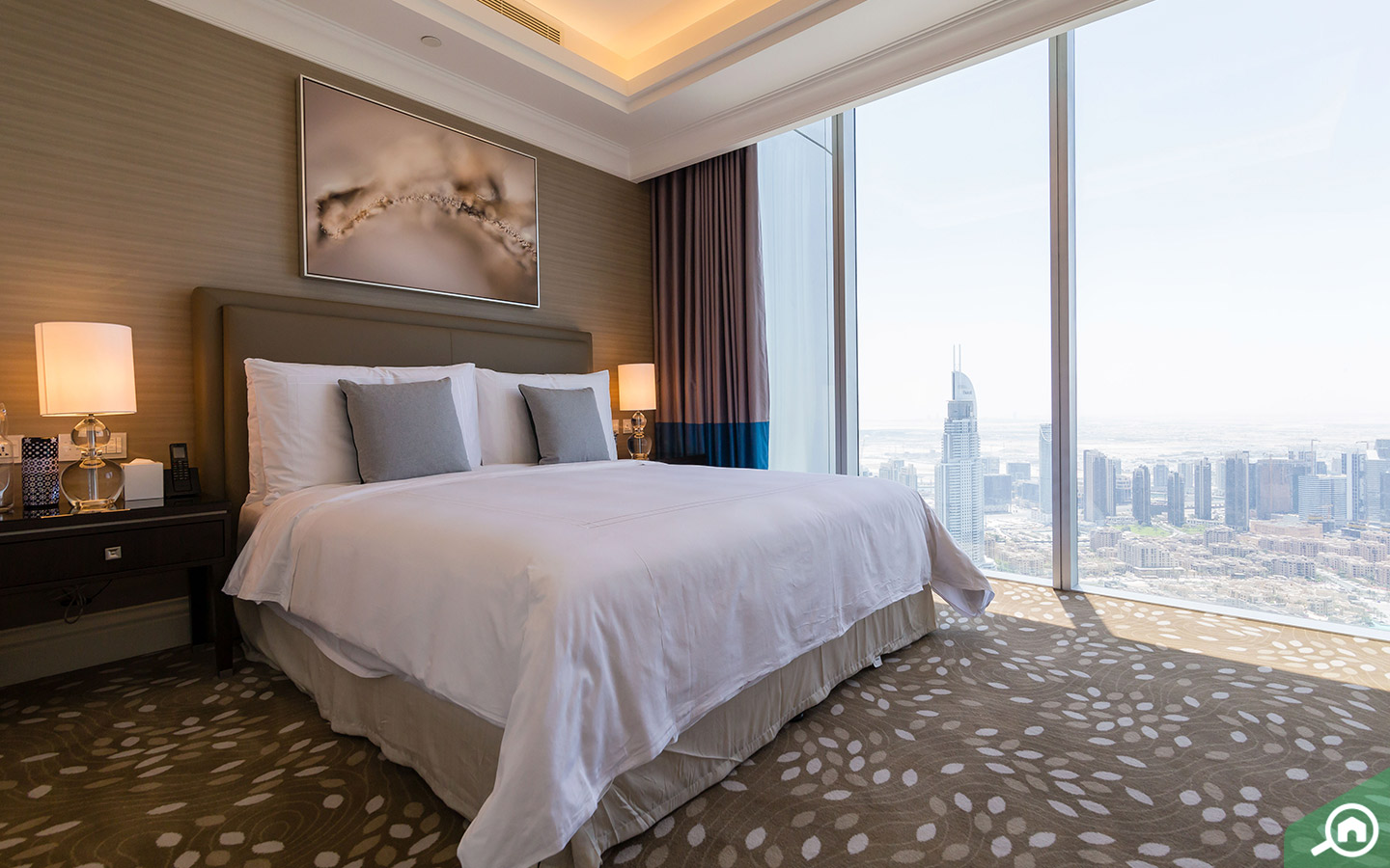 Bedrooms in the penthouse for sale in Downtown Dubai