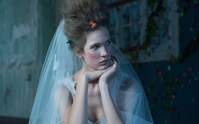 A vintage bride