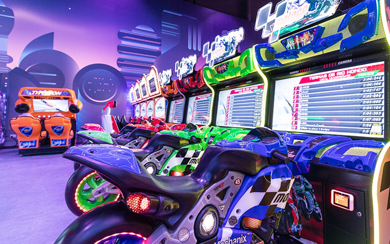 arcade gaming arena