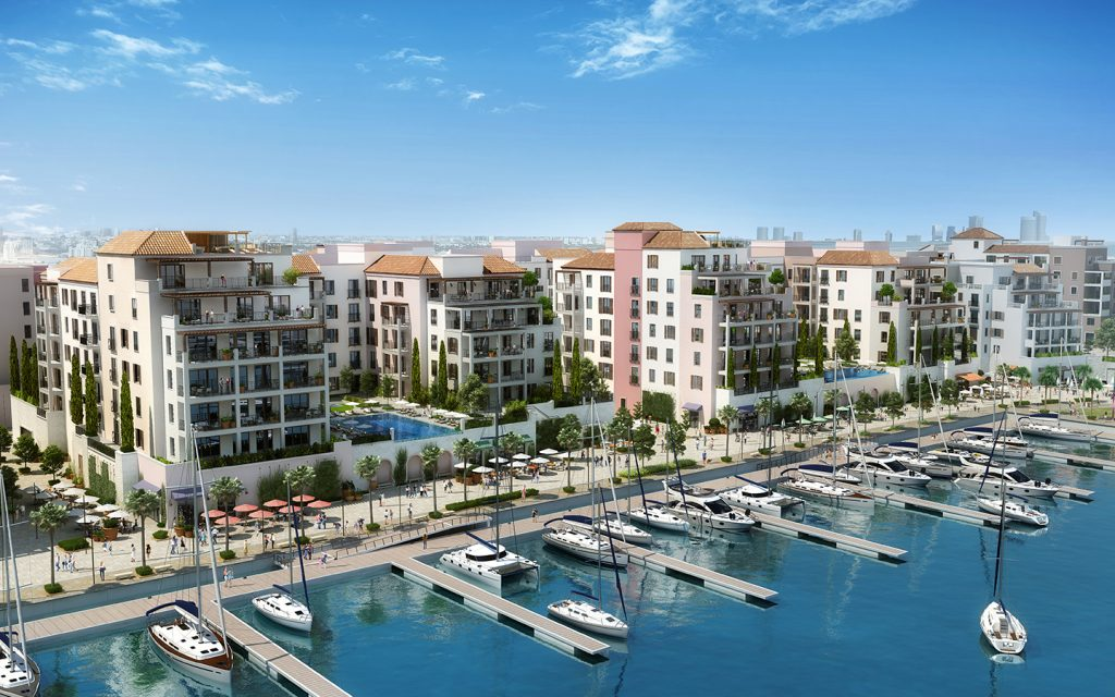 Apartment complexes in Port de la Mer