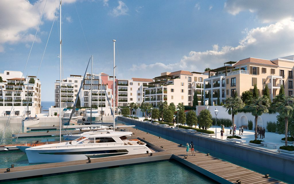 Port de La Mer waterfront apartments