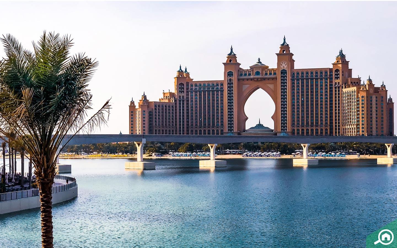 Atlantis Hotel consists of many ocean side resorts