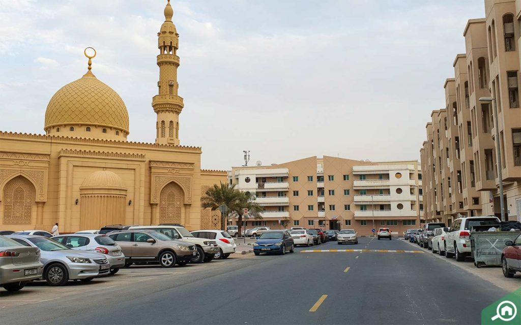 musical fountain in Al Majaz
