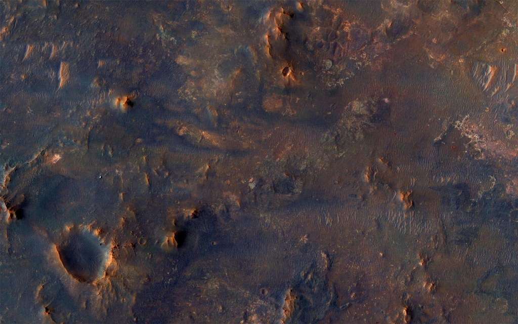 An image of Mars