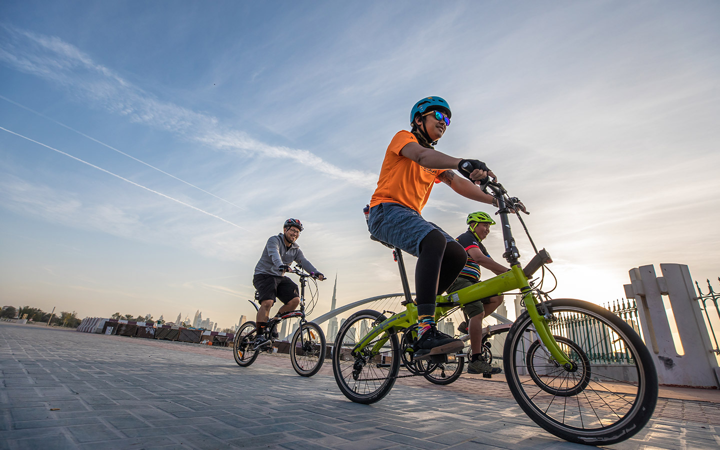 Cycling is a great way to keep fit in Dubai
