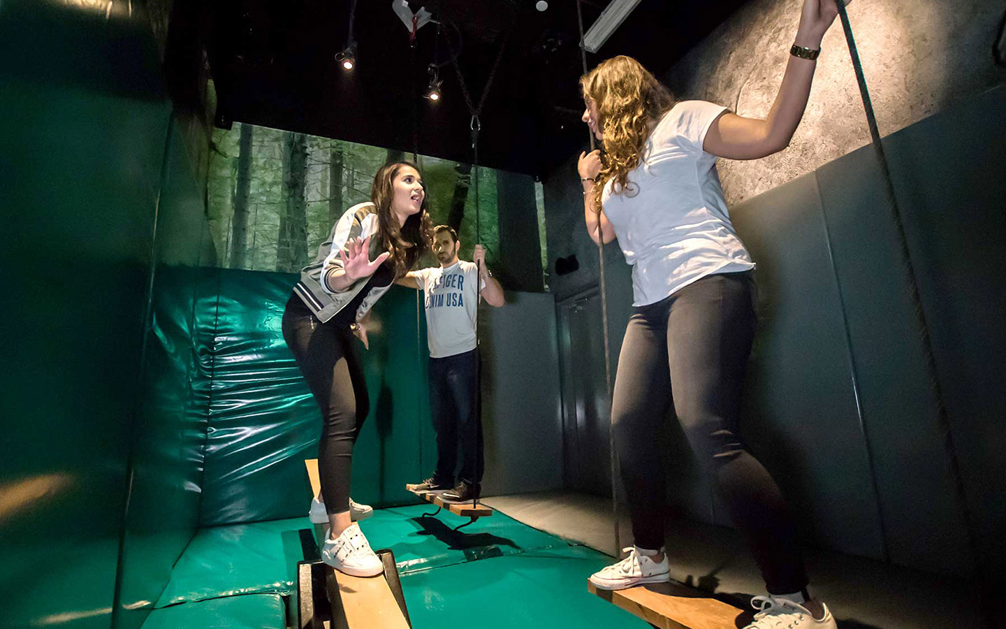 The Jumble is a fantastic place for family-friendly fun in Dubai