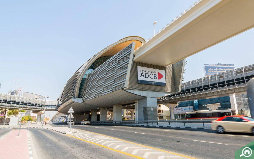 ADCB Metro Station