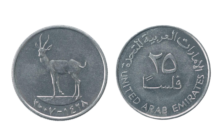 25 Fils UAE coin
