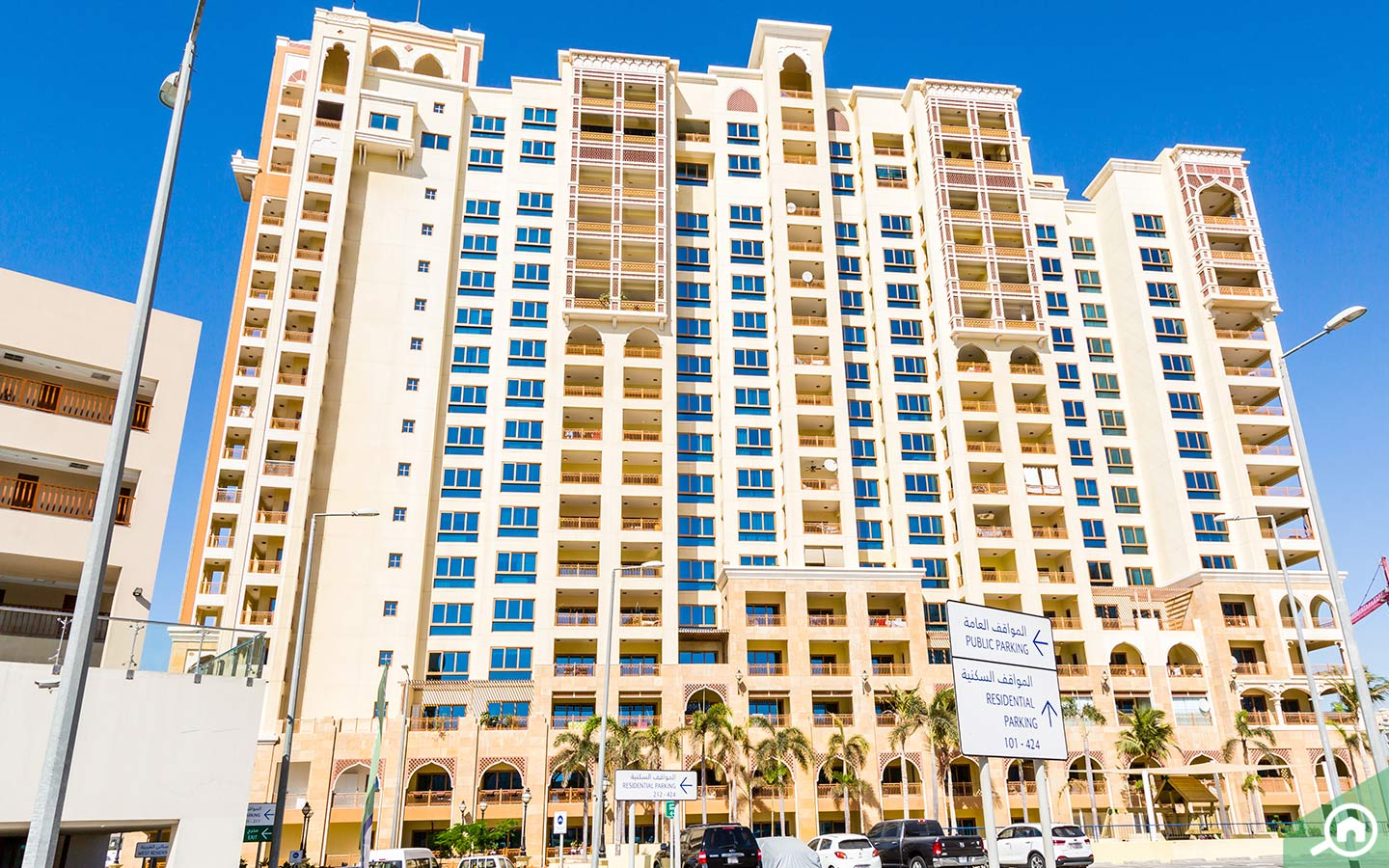 Flats for rent in Palm Jumeirah