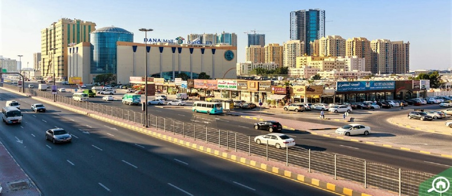 commercial area in ajman