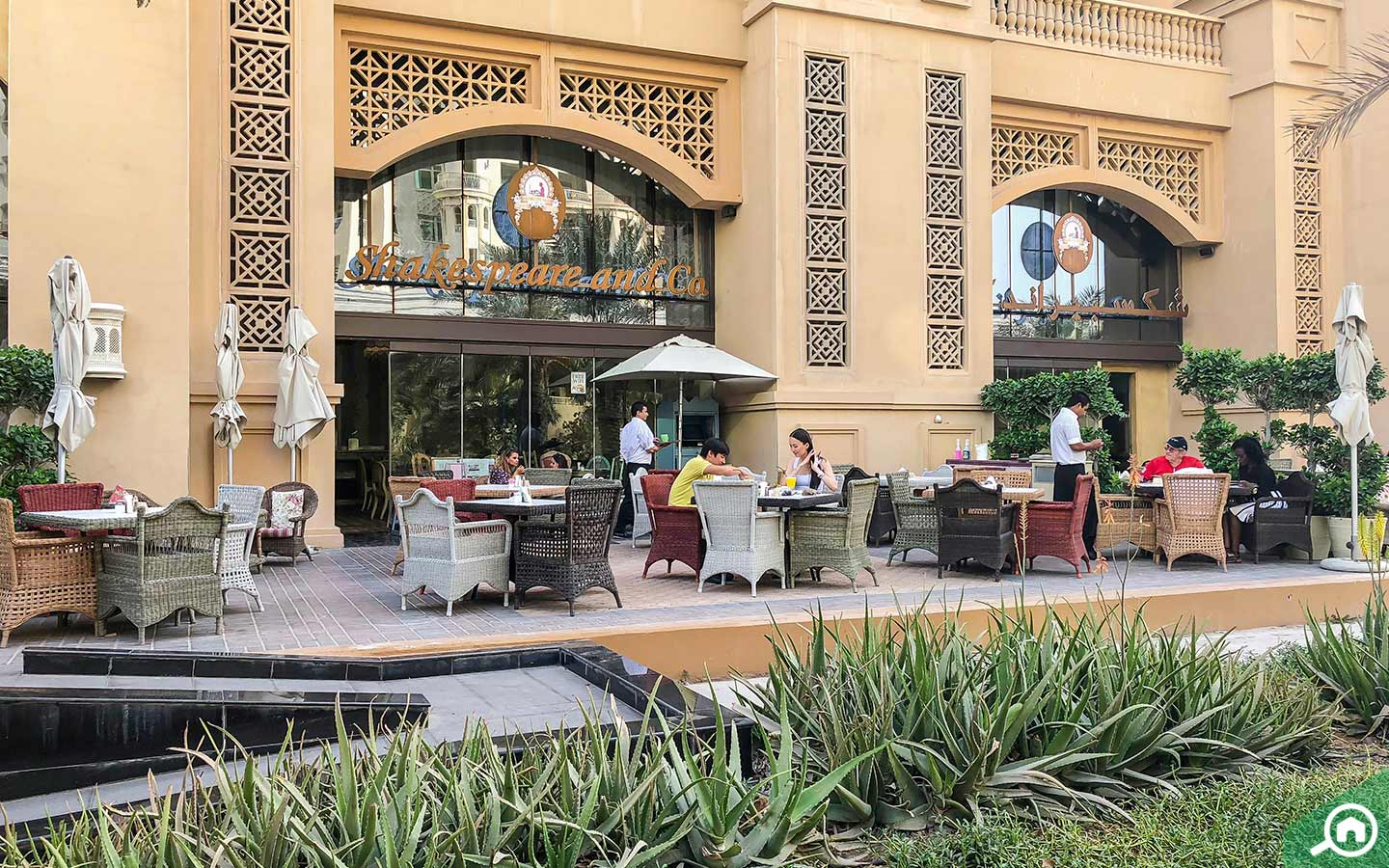 Shakespeare and Co. in Palm Jumeirah