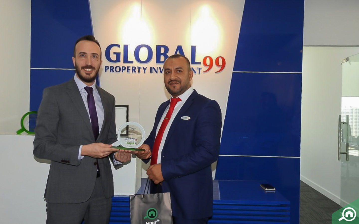 Hany Ibrahim, top real estate agents in Abu Dhabi, receives award