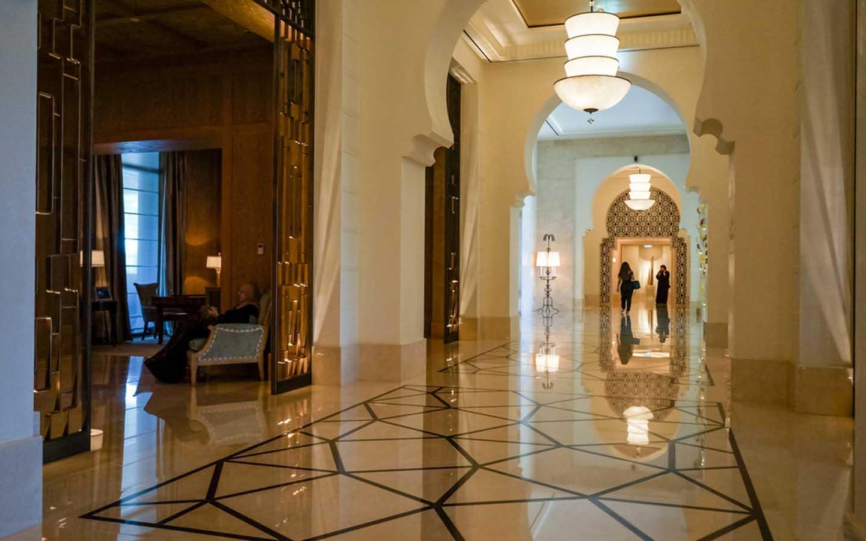 lobby at Four Seasons resort