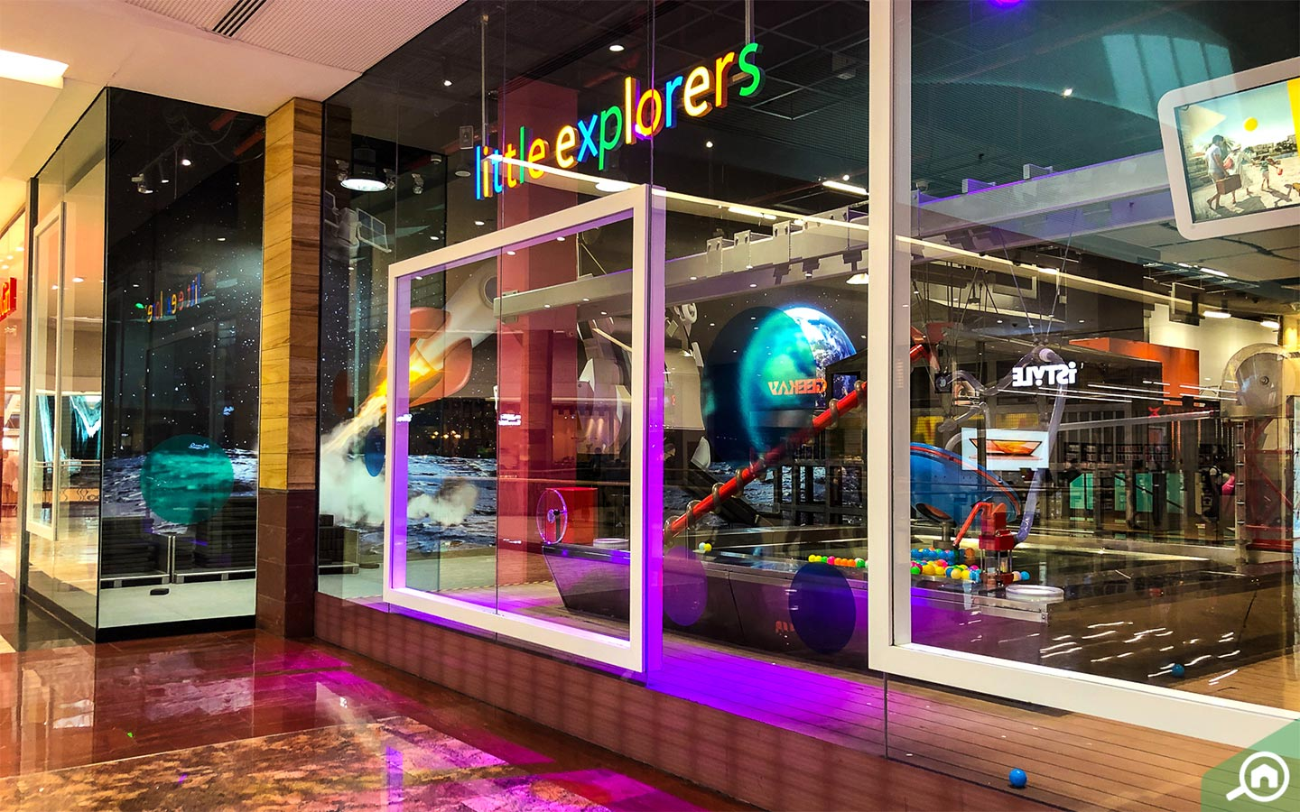 Little Explorers is an interesting facility for kids at City Centre Mirdif.