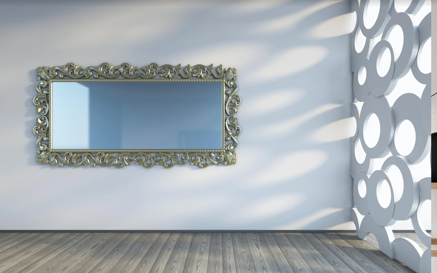 Mirrors and reflective surfaces for lighting
