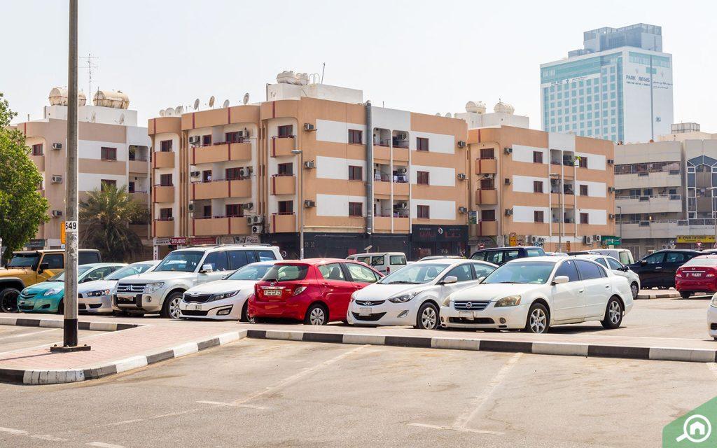 Parking in Karama, Dubai