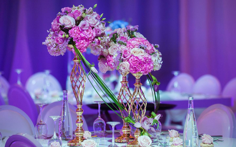 Decor at Emirati Wedding