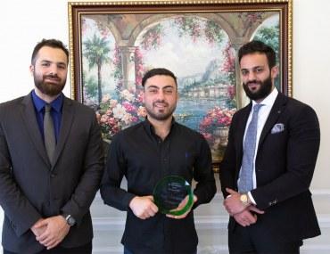 عجمان: جيمزة للعقارات تفوز بجائزة الوكالة المثالية لشهر ديسمبر 2018