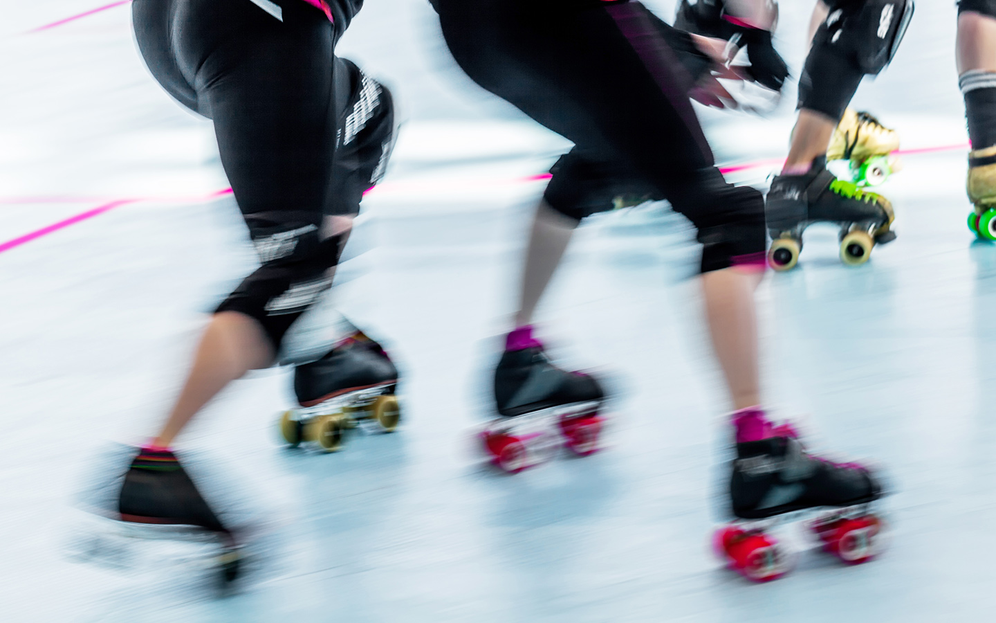 Roller Derby is a great way to get fit in dubai