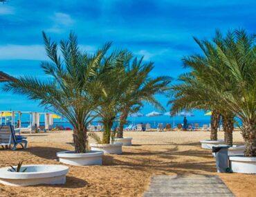 Beach in Ras Al Khaimah
