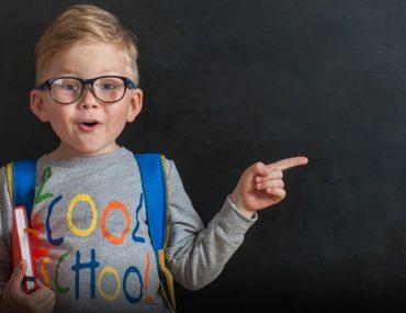 طفل مدرسة