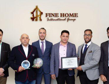 Members of Fine Home International Group, best real estate agency in Abu Dhabi