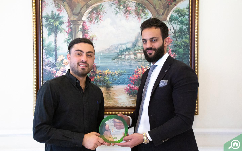Ahmed Zedan takes award for best real estate agency in Ajman