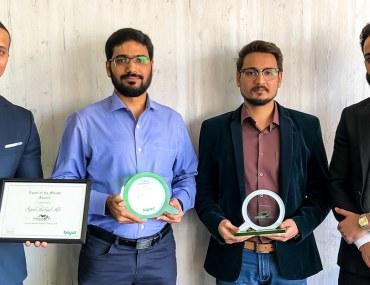 عجمان: الحرمين للوساطة العقارية تفوز بجائزة الوكالة المثالية لشهر فبراير 2019