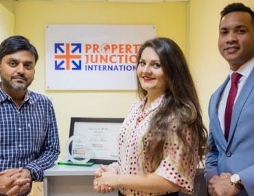 دبي: بروبرتي جنكشن إنترناشيونال تفوز بجائزة بيوت للوكالة المثالية في فبراير 2019
