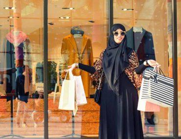 محلات عبايات في دبي