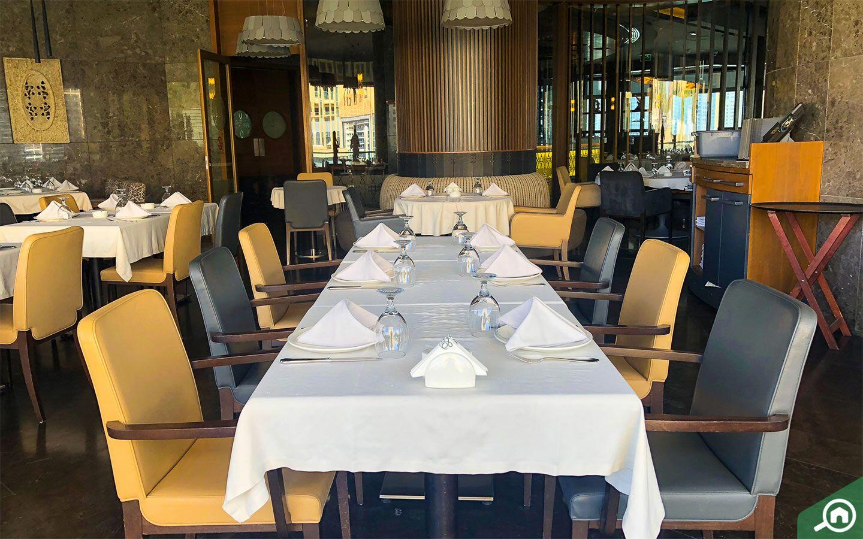 Abd El Wahab is a traditional Lebanese restaurant.