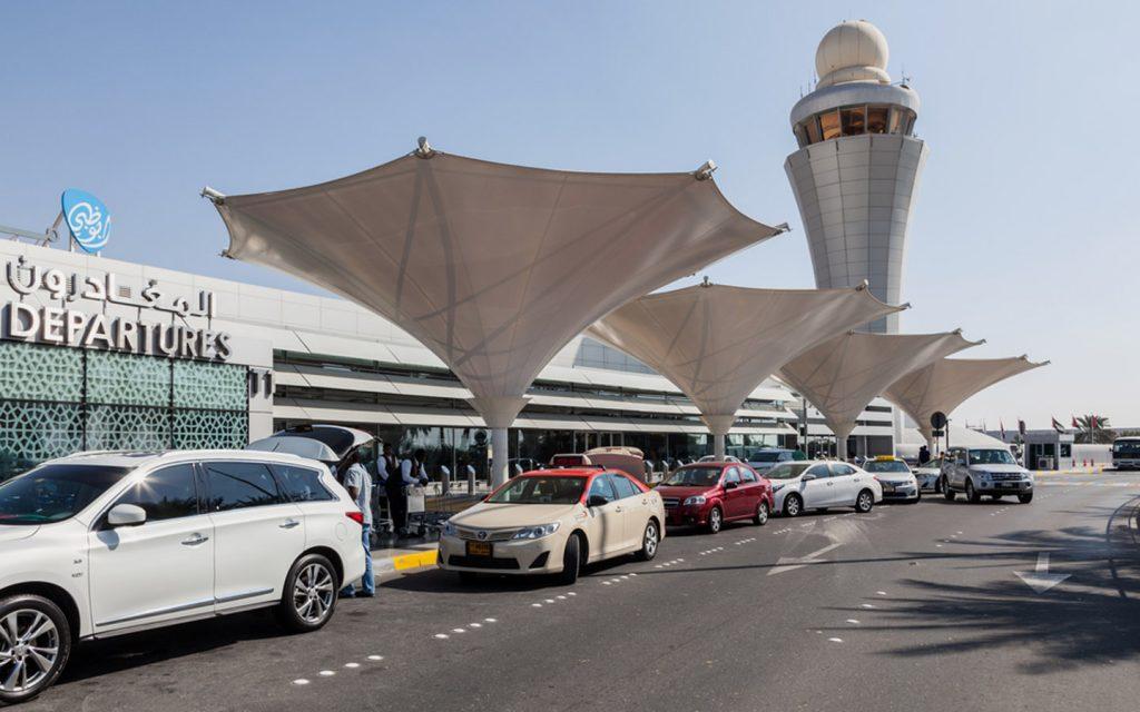 Departures gate in Abu Dhabi airport