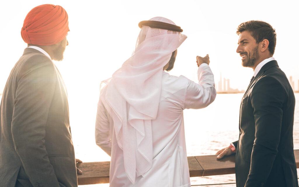 رواد الأعمال من مختلف الجنسيات
