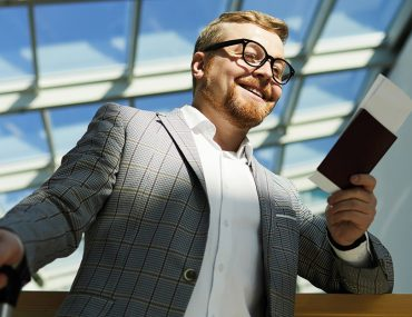 Person holding their Abu Dhabi Golden investor visa
