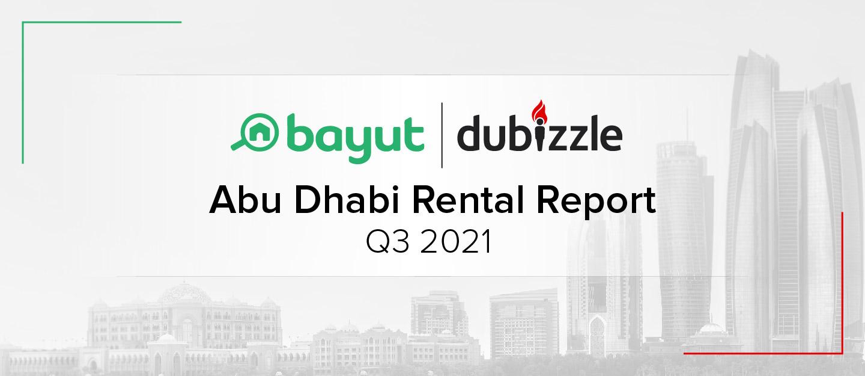 Abu Dhabi rental property market report q3 2021