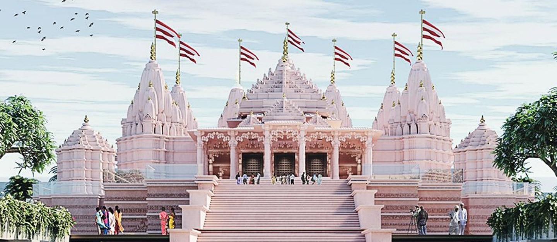 Upcoming Abu Dhabi Hindu Temple Location Facilities More