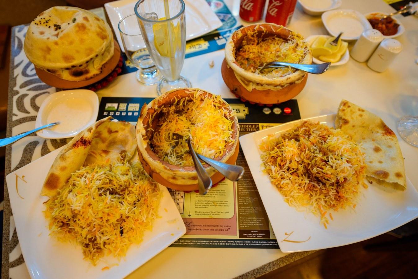 مطعم ستيودنت برياني الشهير كأحد أفضل المطاعم الباكستانية في دبي