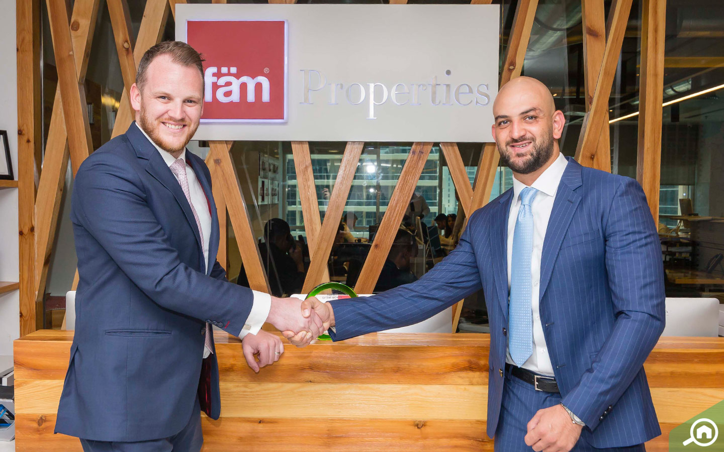 Agency of the month award for May 2018: fam properties