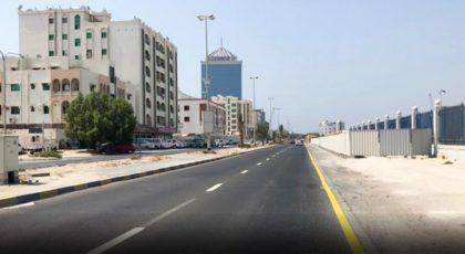 أحد شوارع عجمان